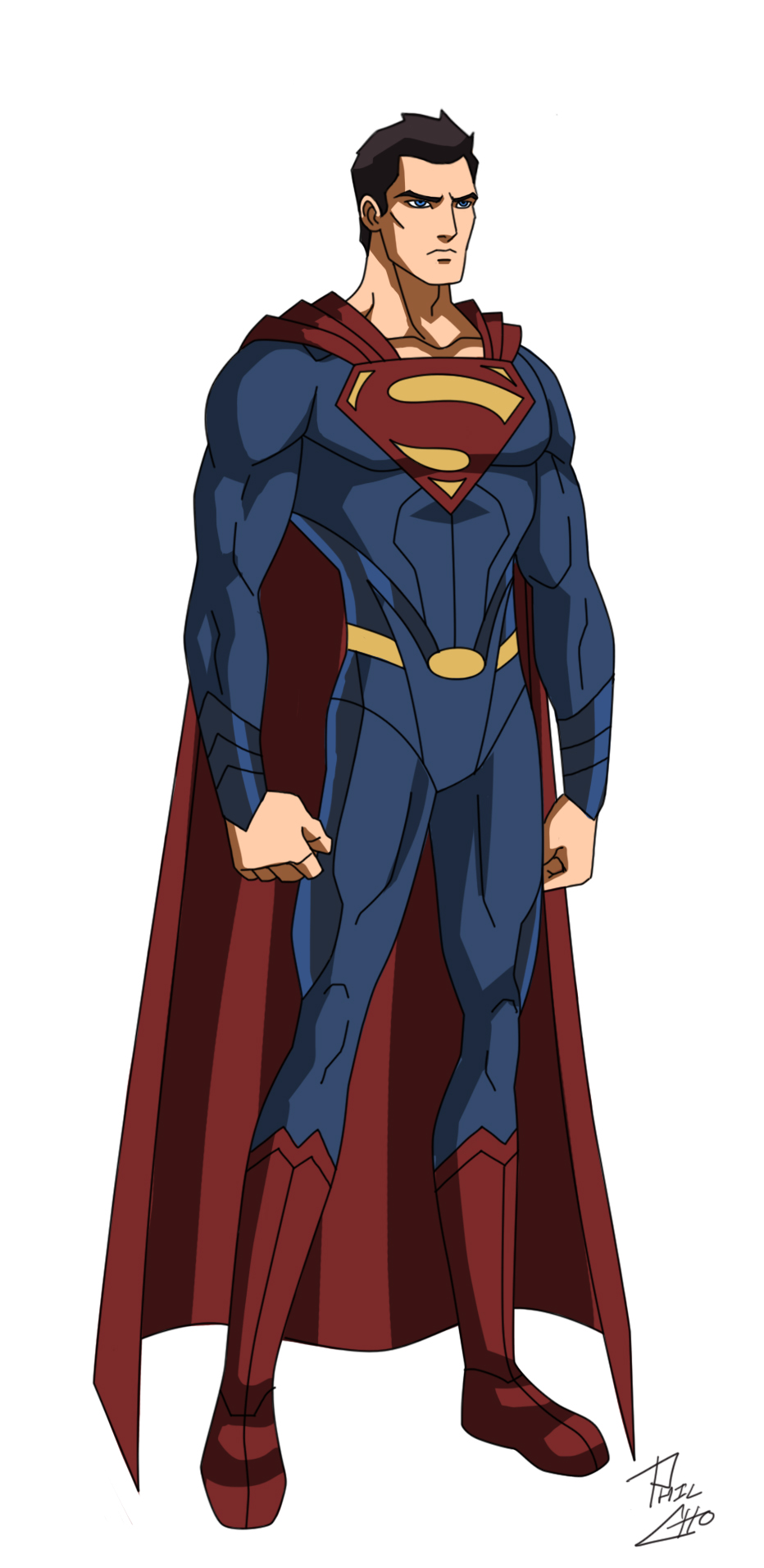 JL Roster Man_of_steel_by_phil_cho-d63fenm