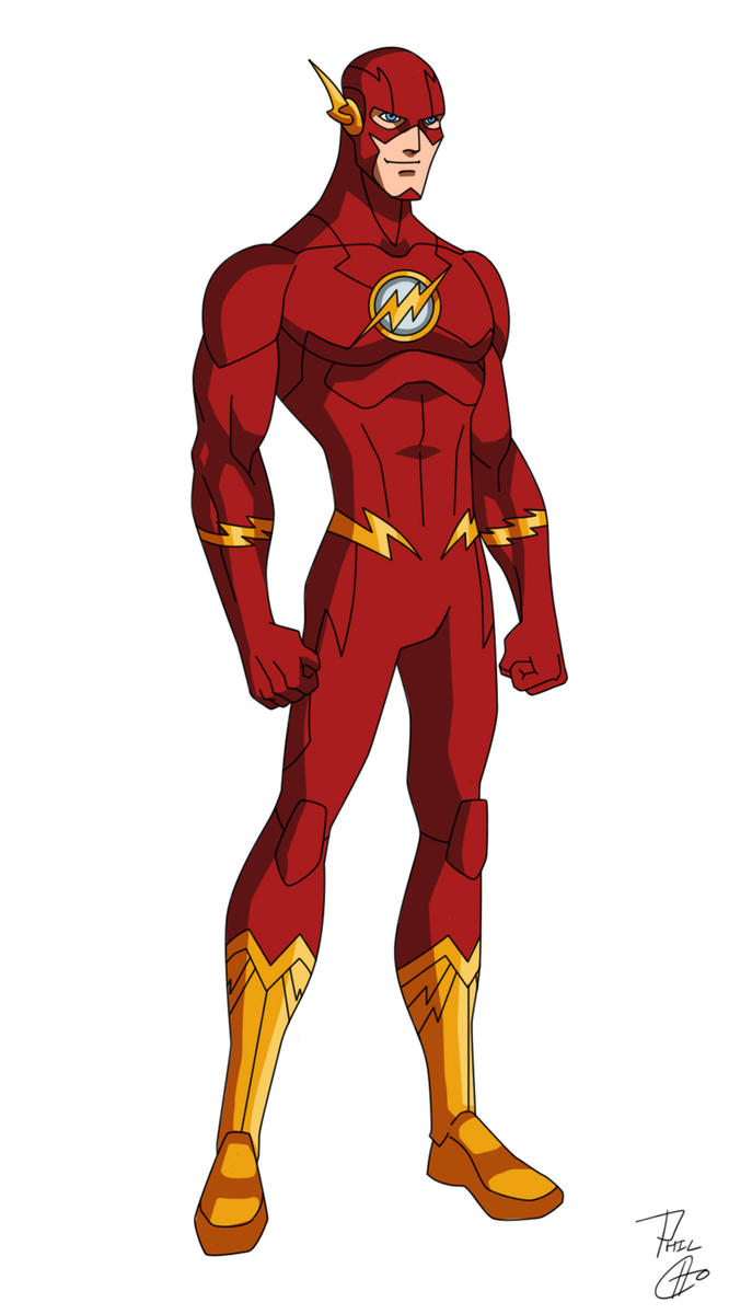 THE FLASH - New 52 by phil-cho on DeviantArt