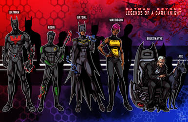 Batman Beyond: Legends of a Dark Knight by phil-cho