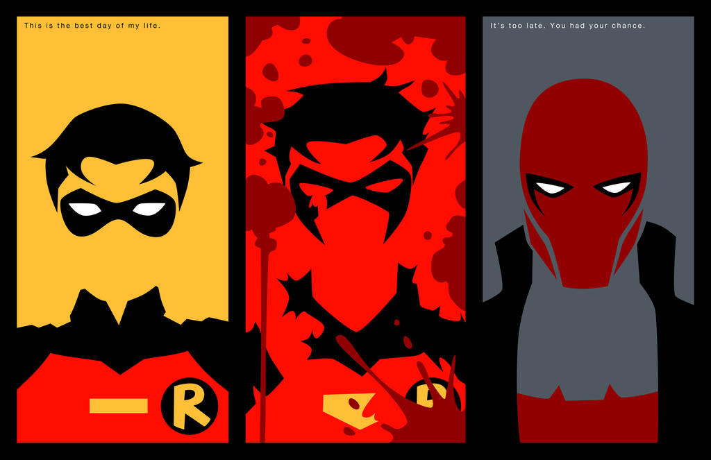 Evolution of Jason Todd by phil-cho on DeviantArt