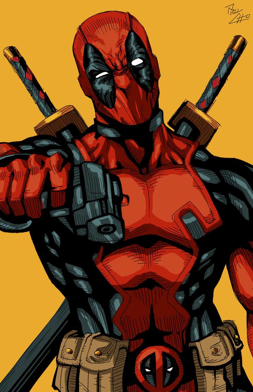 Deadpool!! by phil-cho