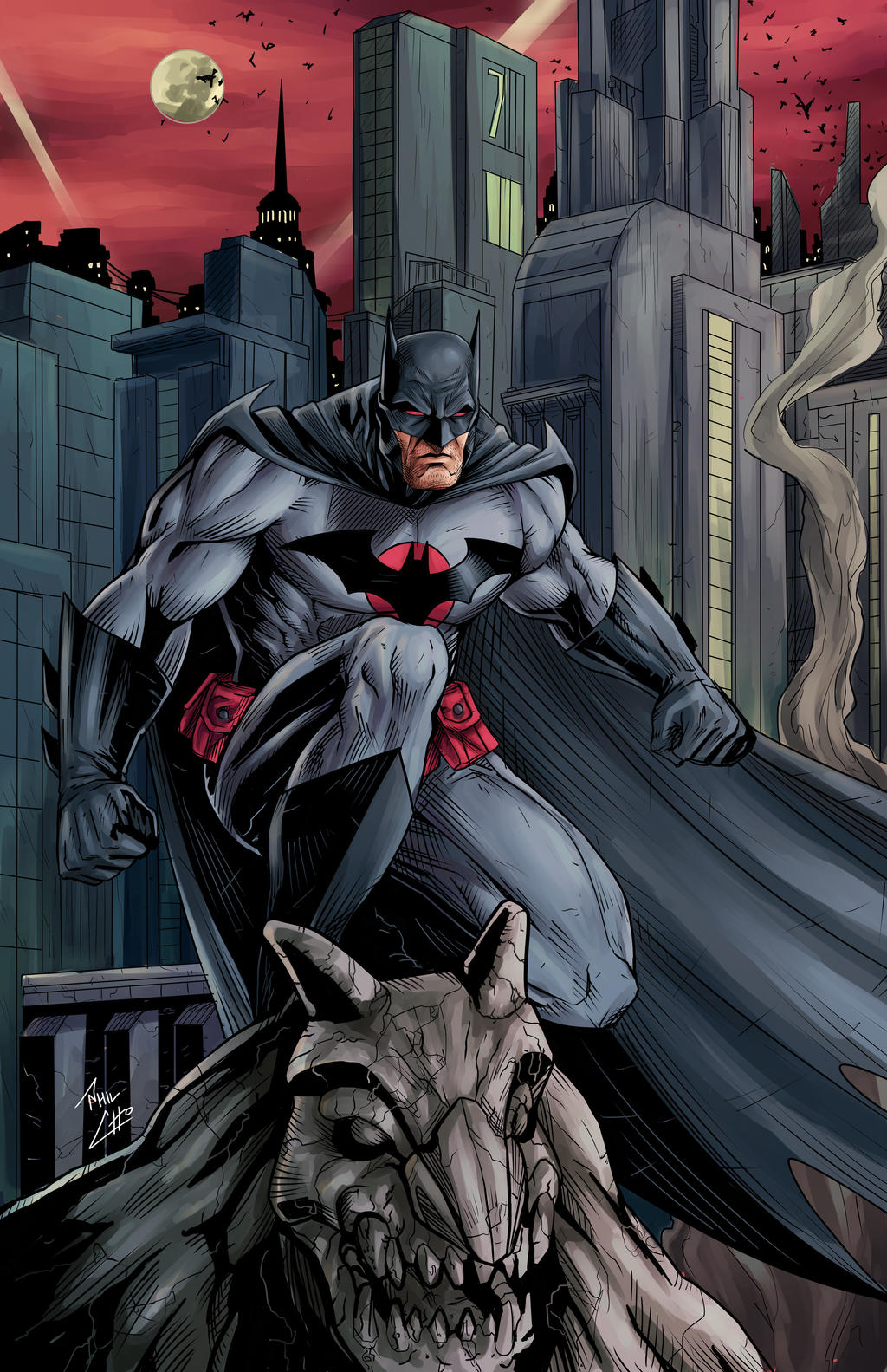 Batman: Thomas Wayne by phil-cho