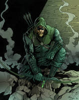 The [Green] Arrow by phil-cho