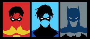 Evolution of Dick Grayson (pre New 52)
