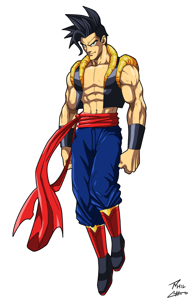Son-El (Goku/Superman fusion) by phil-cho on DeviantArt