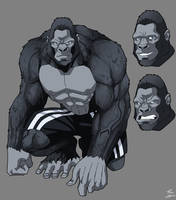 Ape commission by phil-cho