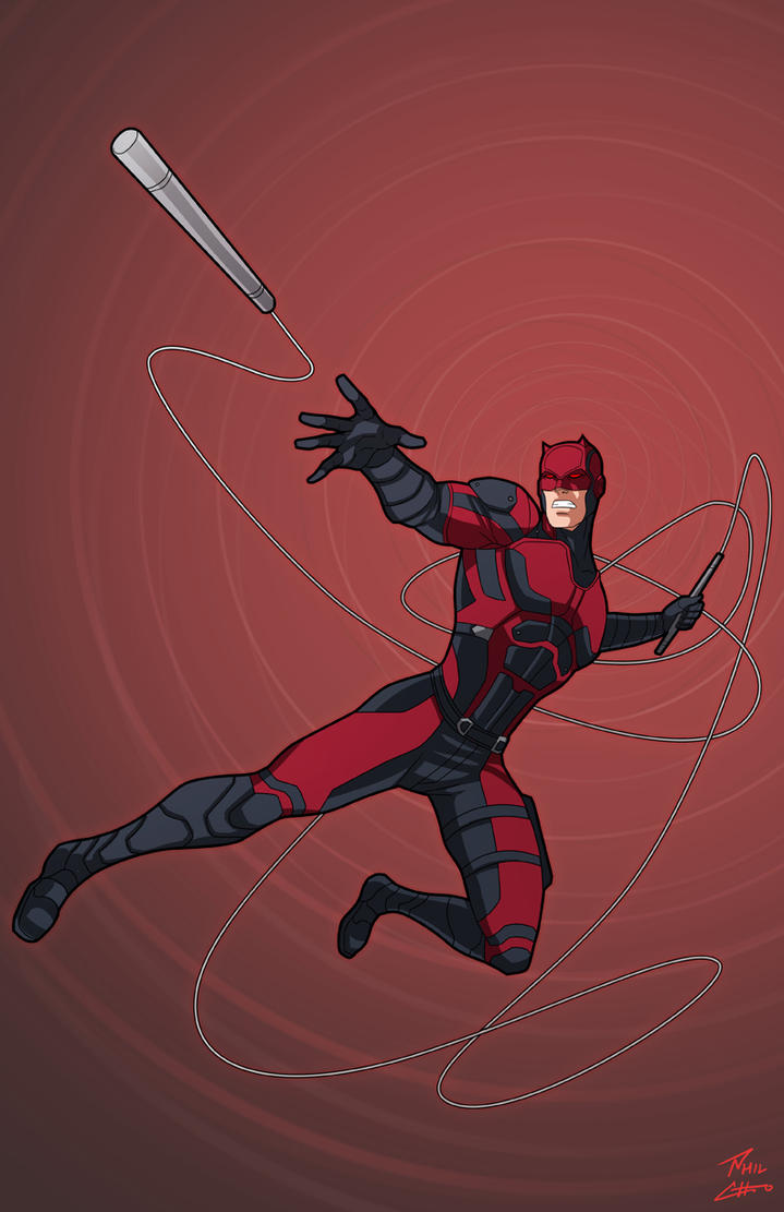 Daredevil by phil-cho