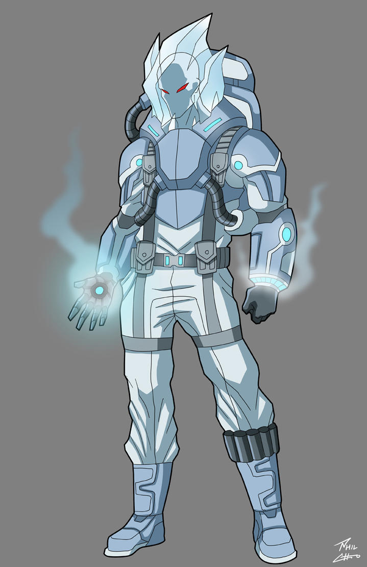 Mr freeze redesign commission by phil cho on deviantart for Mr art design