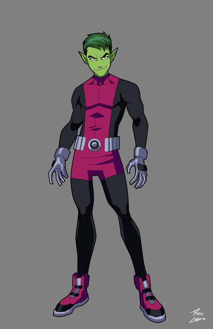 Beast Boy Commission by phil-cho