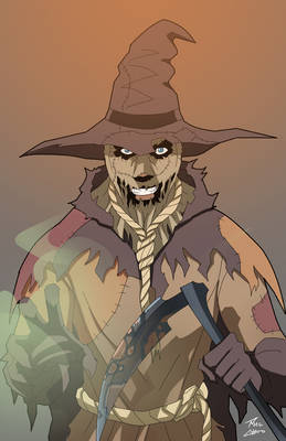 Scarecrow on the loose