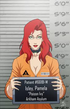 Pamela Isley locked up