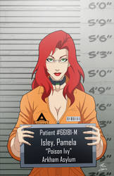 Pamela Isley locked up by phil-cho