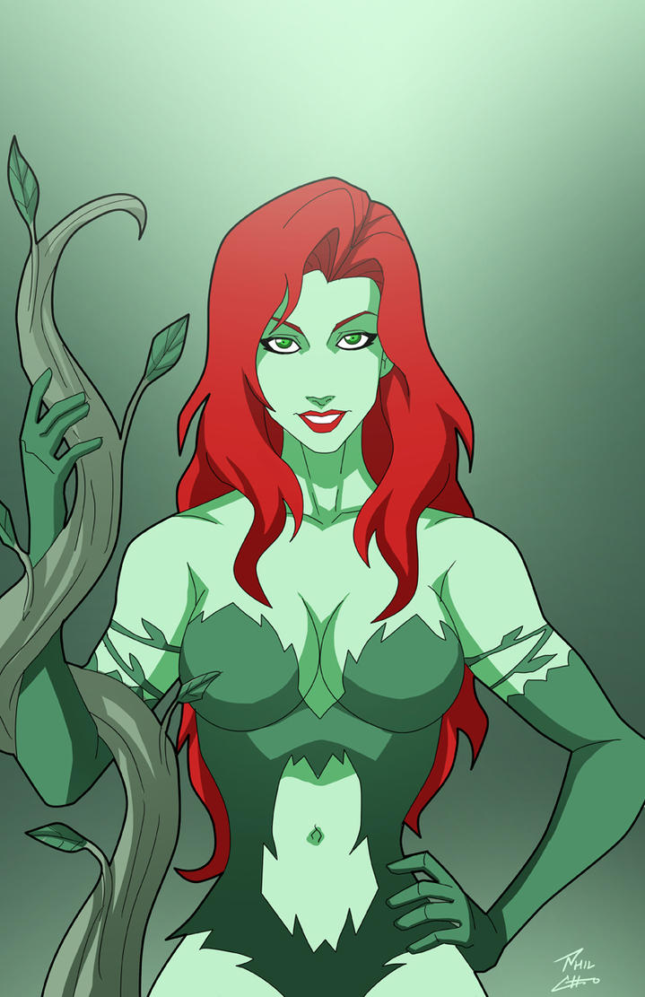 Poison Ivy by phil-cho