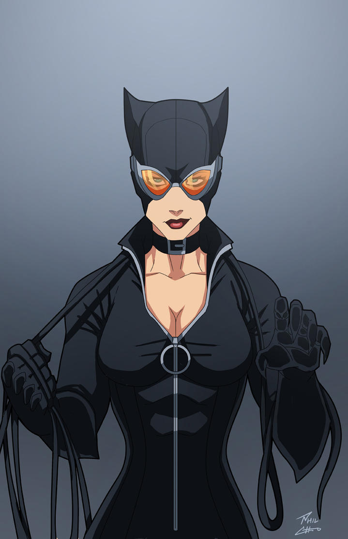Catwoman by phil-cho