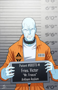 Victor Fries locked up