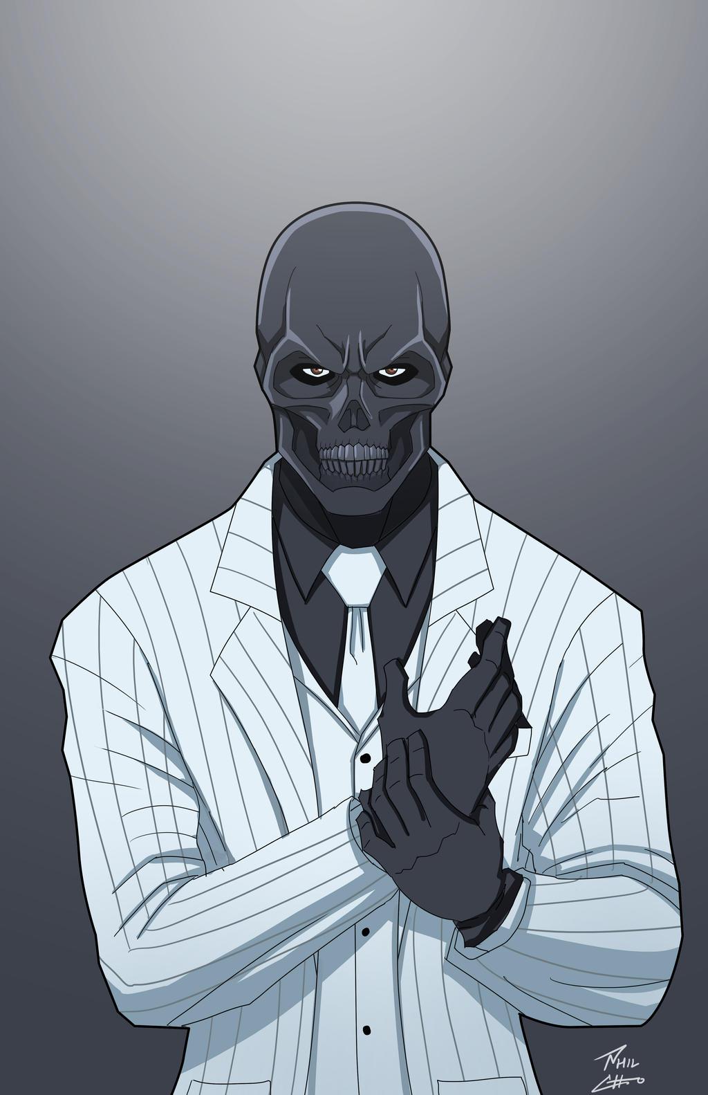 Comme faire le masque noir pour la personne des boutons