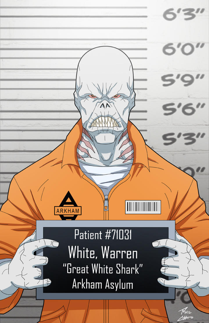 Warren White locked up by phil-cho