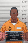 Garfield Lynns locked up