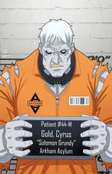Cyrus Gold locked up