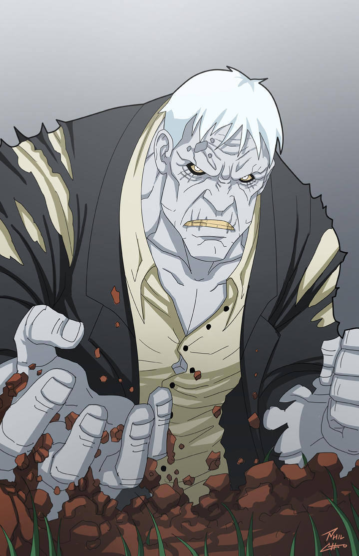 Solomon Grundy by phil-cho on DeviantArt