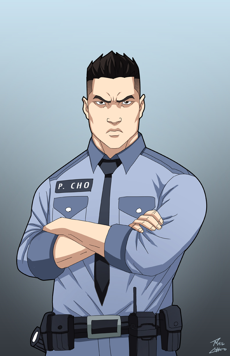 Officer Phil Cho By Phil Cho On Deviantart