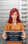 Roxanne Sutton locked up