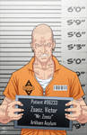 Victor Zsasz locked up