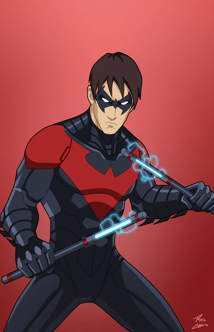 Nightwing (Earth-27) commission by phil-cho