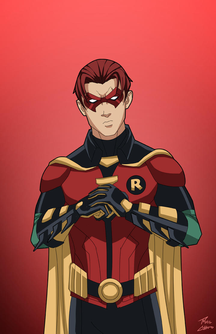 Robin 2.0 (Jason Todd) commission by phil-cho