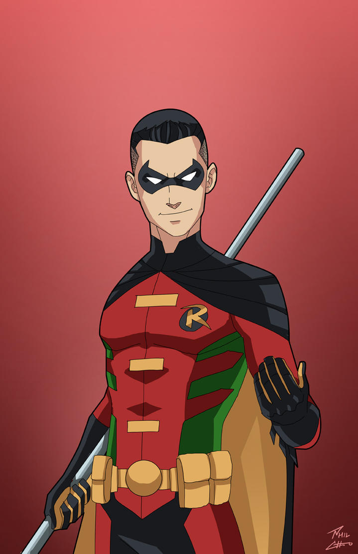 Robin 3.0 (Tim Drake) commission by phil-cho