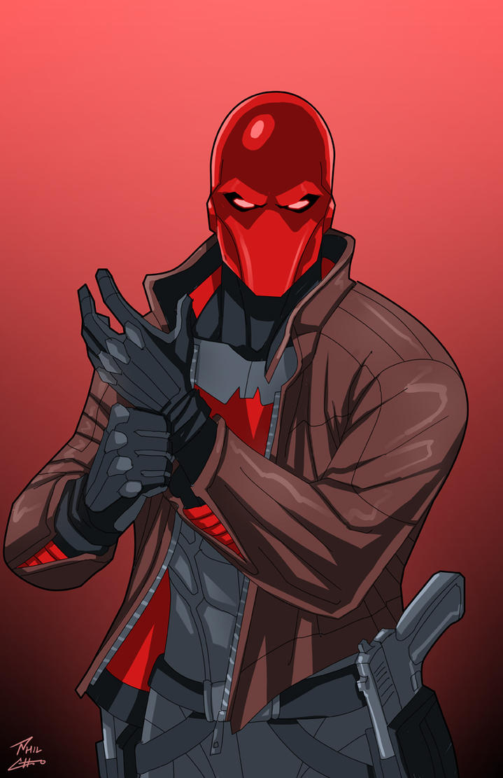 Red Hood Commission By Phil Cho On Deviantart