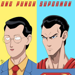 One Punch Superman! by phil-cho