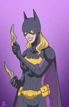 Batgirl 4.0 (Stephanie Brown) commission