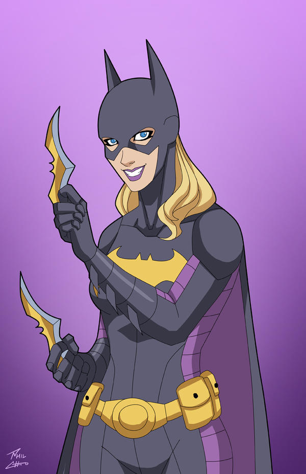 Batgirl 4.0 (Stephanie Brown) commission by phil-cho