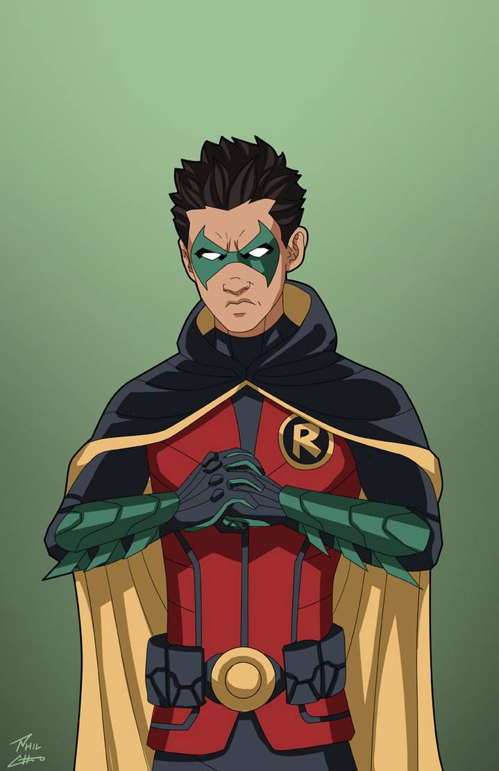Damian Wayne by Roysovitch on DeviantArt