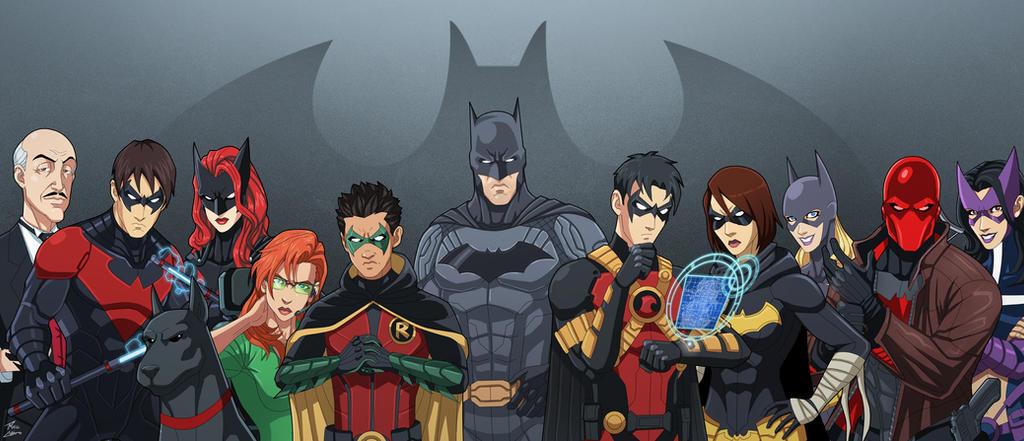 The Bat-Family (Earth-27) v.2