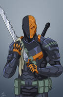Deathstroke commission by phil-cho