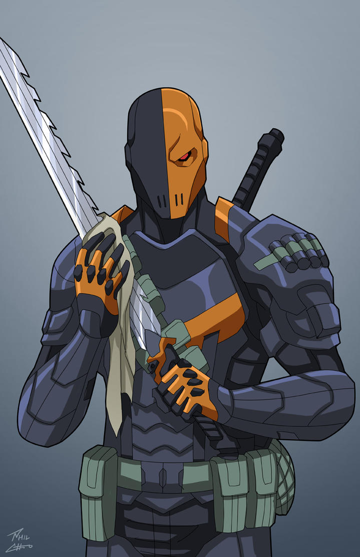 Deadshot Redesign Deathstroke commission...