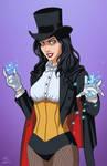 Zatanna Magician (Earth-27) commission