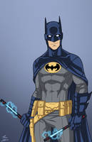Batman (Dick Grayson) by phil-cho