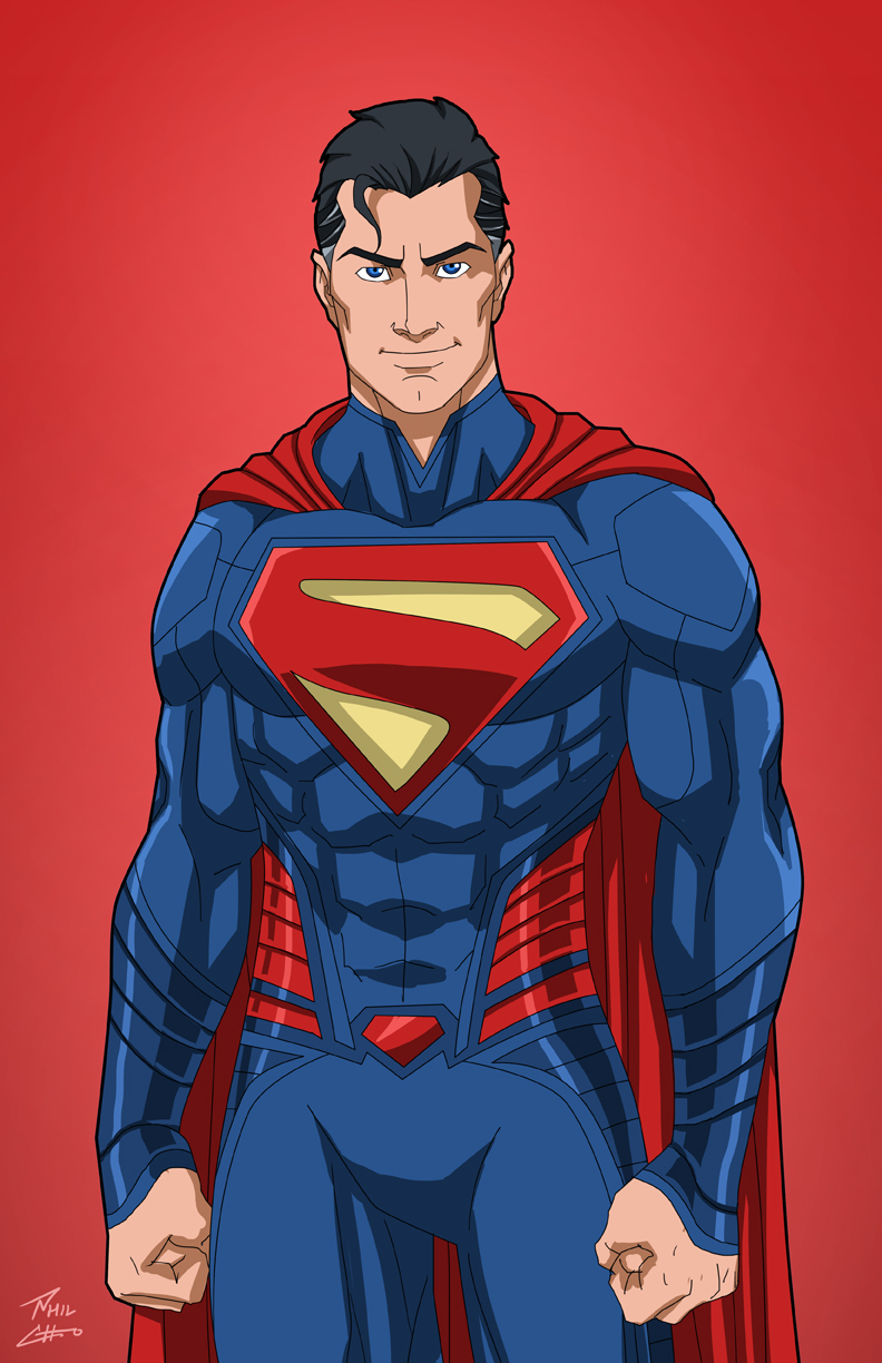 Superman (Earth-27) commission by phil-cho