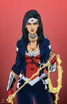 Wonder Woman (Earth-27) commission