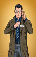 Clark Kent (Earth-27) commission by phil-cho