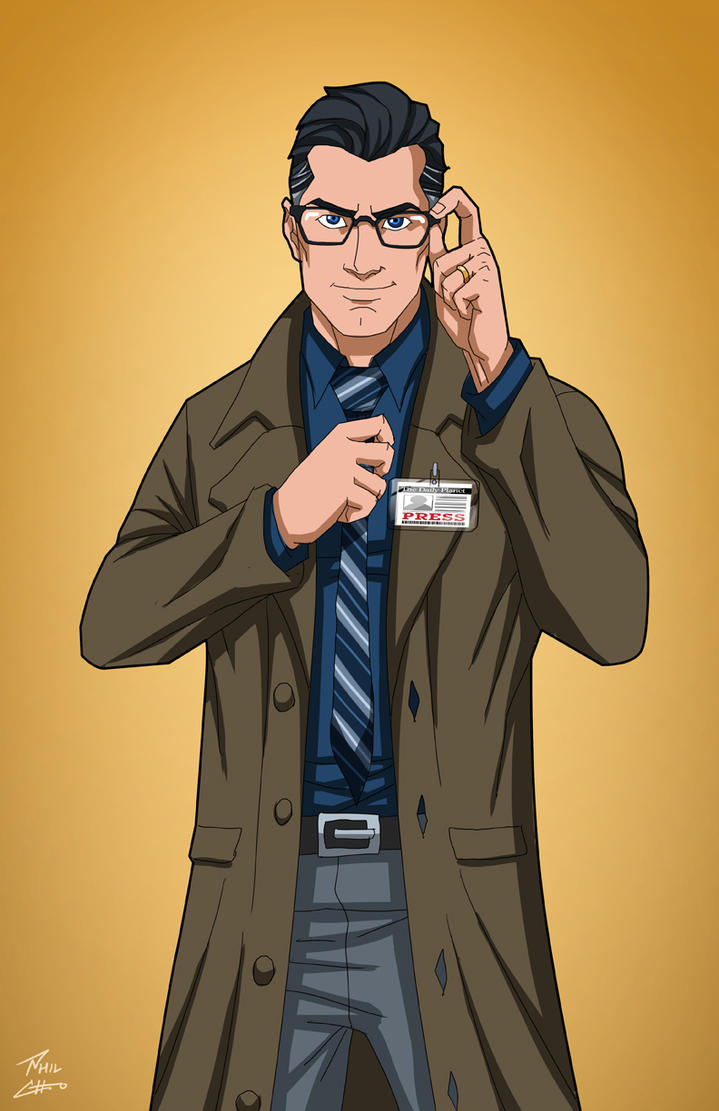 L'Interview Clark_kent__earth_27__commission_by_phil_cho-d9xt93a
