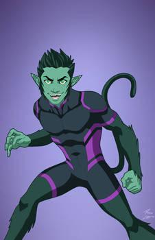 Beast Boy (Earth-27) commission