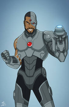 Cyborg (Earth-27) commission