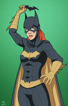 Batgirl 1.5 (Earth-27) commission