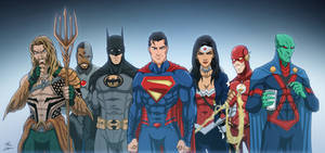 Justice League by phil-cho