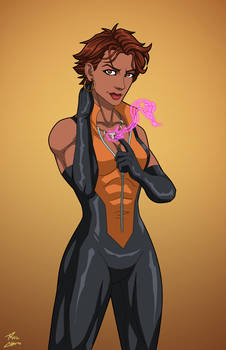 Vixen (Earth-27) commission by phil-cho