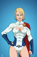 Power Girl (Earth-27) commission by phil-cho